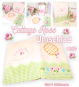 Cottage Rose Notebook Cover