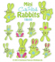 Mini Cute Patch Rabbits