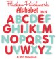 Patchy Applique Letters