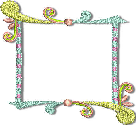 Der Stickbaer | Funny Frames | Embroidery from heart