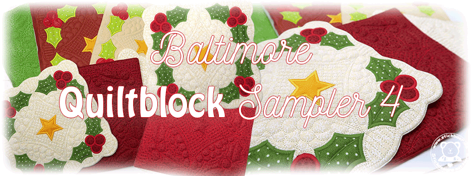 Baltimore Quiltblock Sampler 4