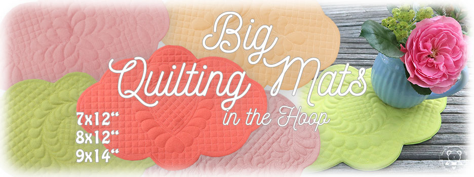 Big Quilting Mats ITH