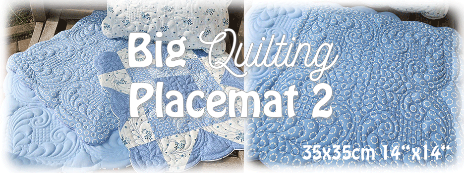 Big Quilting Placemat 2