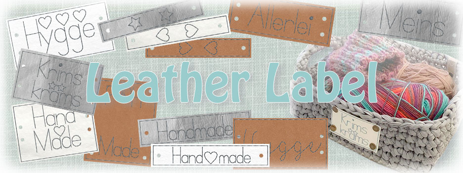 Leather labels ITH