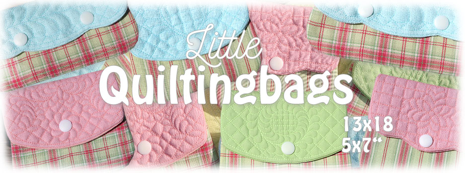 Little Quilting Bags ITH