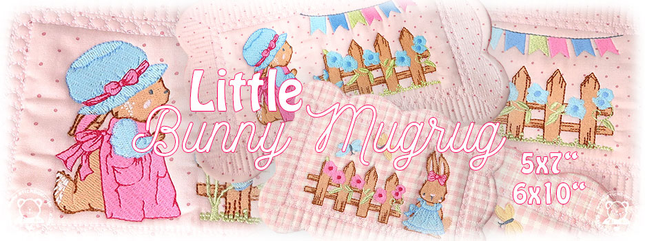 Little Bunny Mugrugs