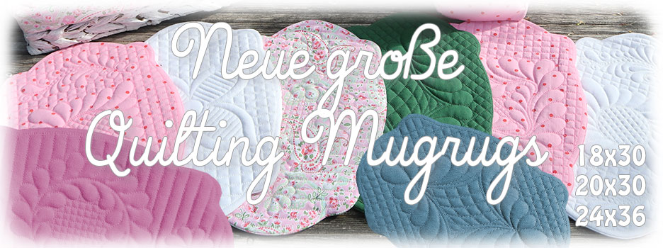 Neue Große Quilting Mugrugs