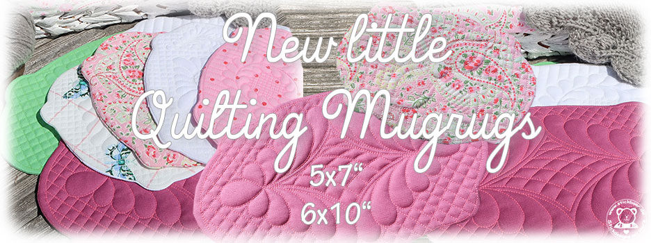 New little Quilting Mugrugs
